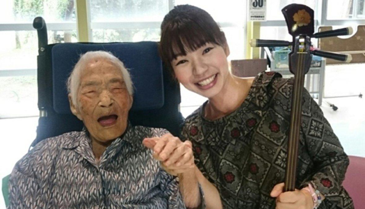 В Японии умерла сама старая жительницы планеты