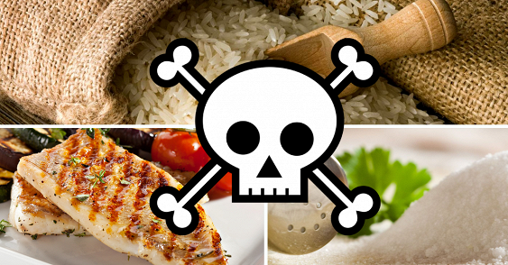 НЕ ЕШЬТЕ ЭТО. Список чрезвычайно опасных для здоровья продуктов.