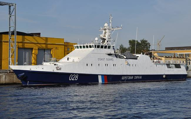 Заложено сразу три корабля для Пограничной службы ФСБ России