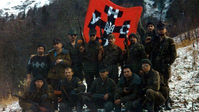 Украинские террористы в Чечне