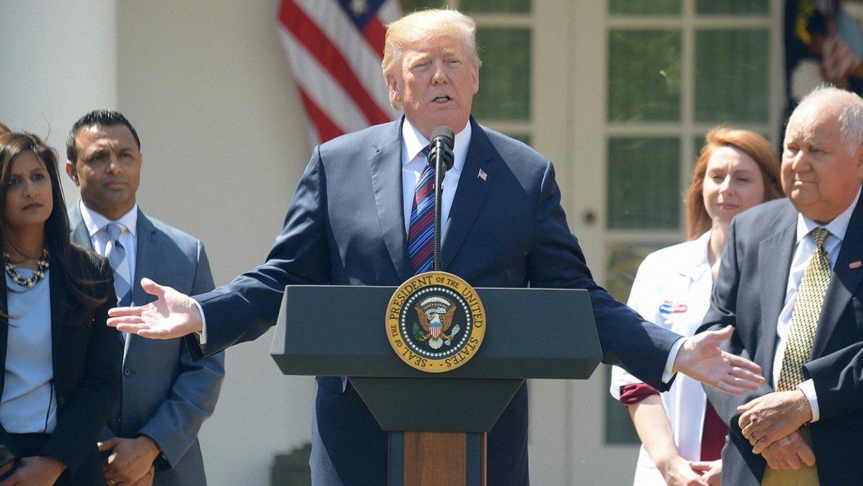 Трамп приветствовал решение Ким Чен Ына прекратить ядерные испытания
