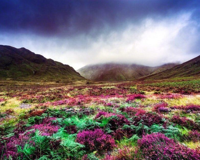 Чарующие виды острова Скай острова, которого, острове, остров, является, Шотландии, здесь, множество, Данвеган, Замок, прозрачная, чистая, кристально, всегда, Бассейнах, необыкновенно, протяжении, красивым, самым, считаются