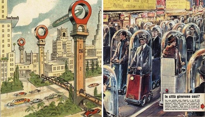 Будущее глазами прошлого, или Каким видели наши предки транспорт XXI века