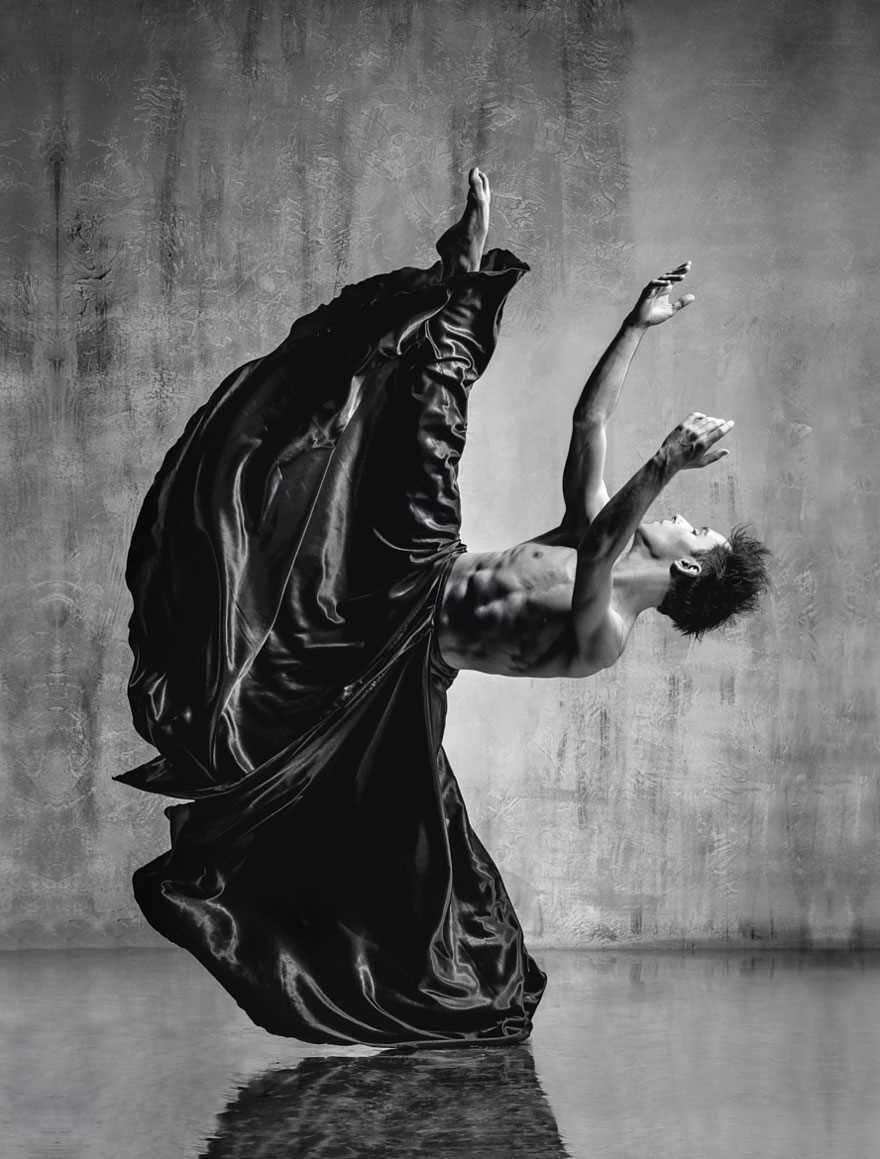 Захватывающие портреты танцоров балета Александра Яковлева