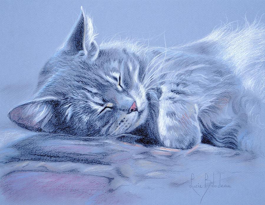 Чтобы так рисовать кошек, их нужно любить...