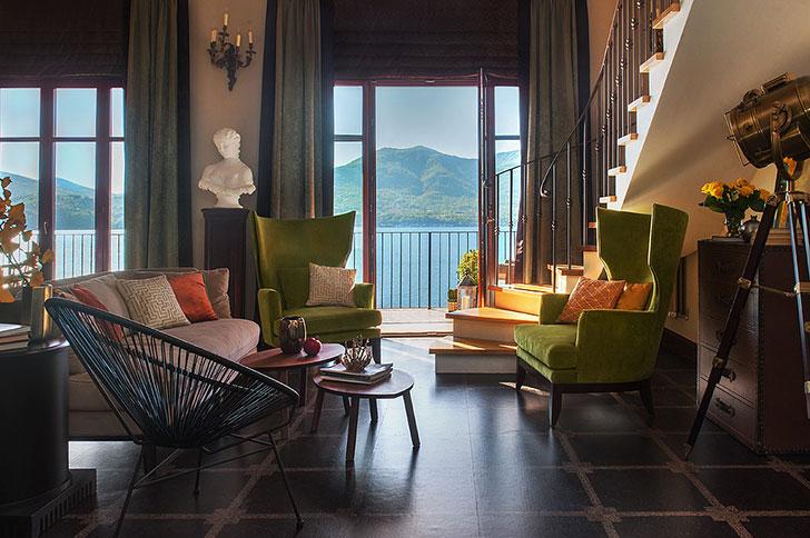 Восхитительный интерьер российского декоратора на озере Лаго-Маджоре в Италии