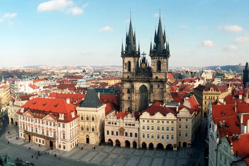 Любопытное о Праге