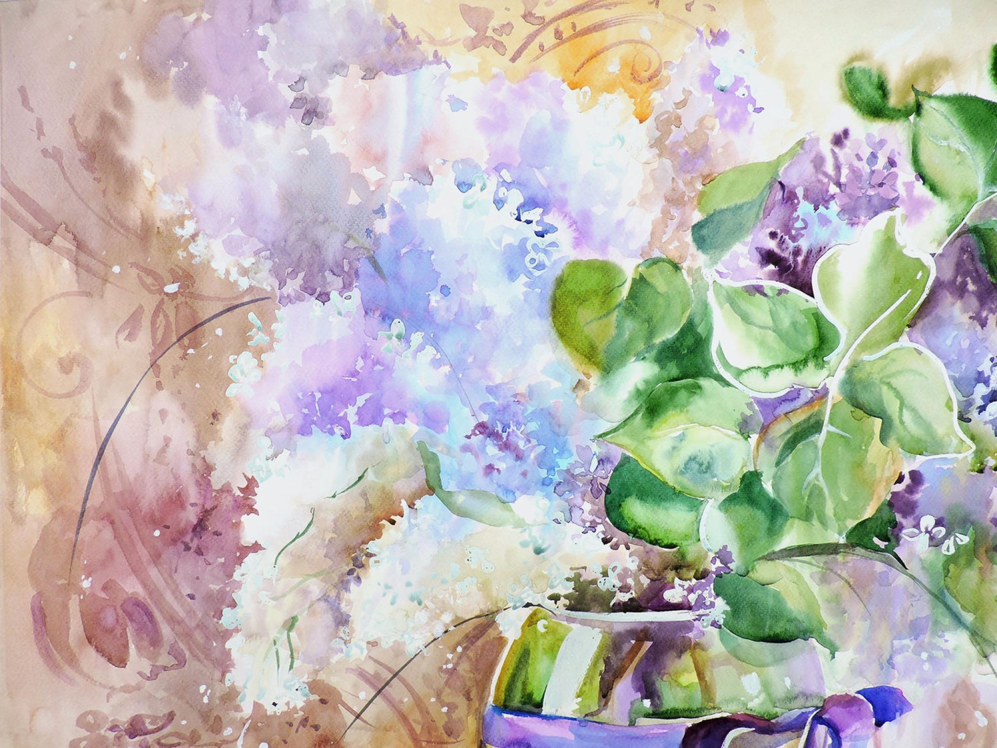 """""""Нарву цветов и подарю букет..."""" прелестные пастельные натюрморты Аннет Логиновой"""