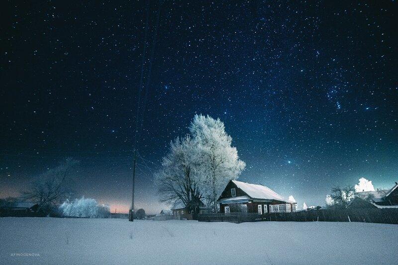 Ночная Россия