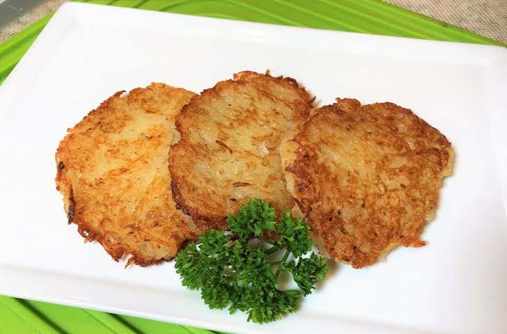 Драники картофельные без муки и яиц