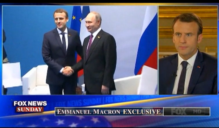 Макрон: Путин — сильный и умный президент, которому нельзя показывать слабость