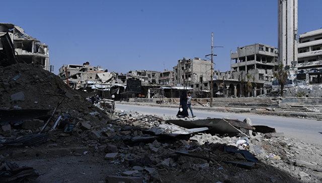 Русские пообещали привезти мальчика из видео о «химатаке» в Сирии прямо в Гаагу