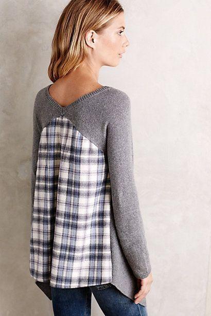 Как сделать меньше свитер