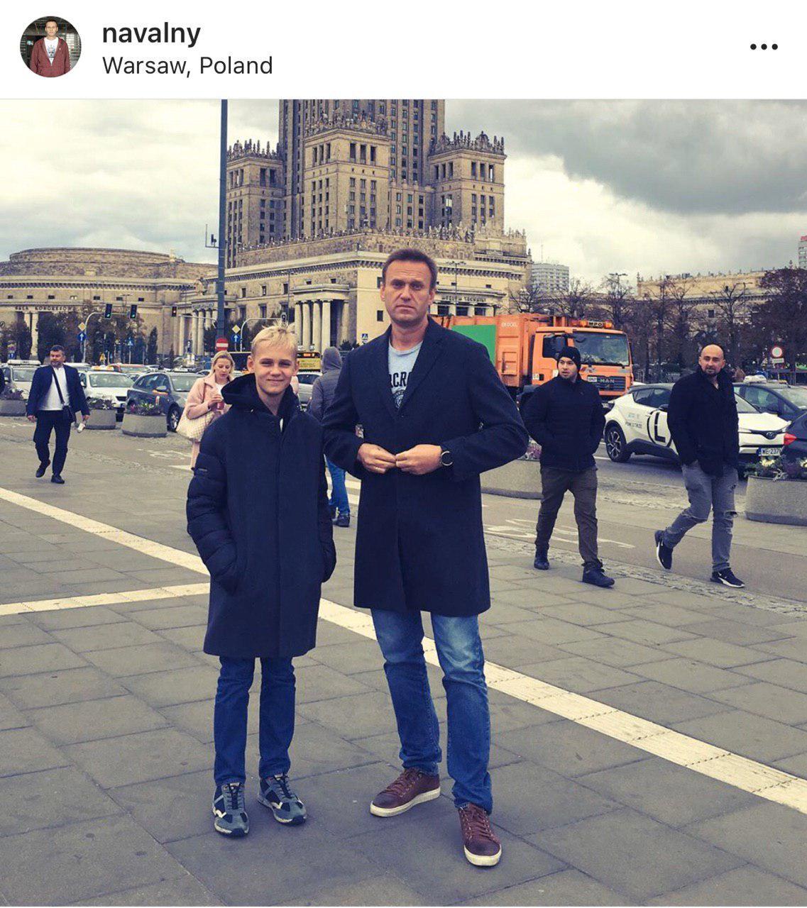 Каникулы в Польше: Навальный получил новую методичку
