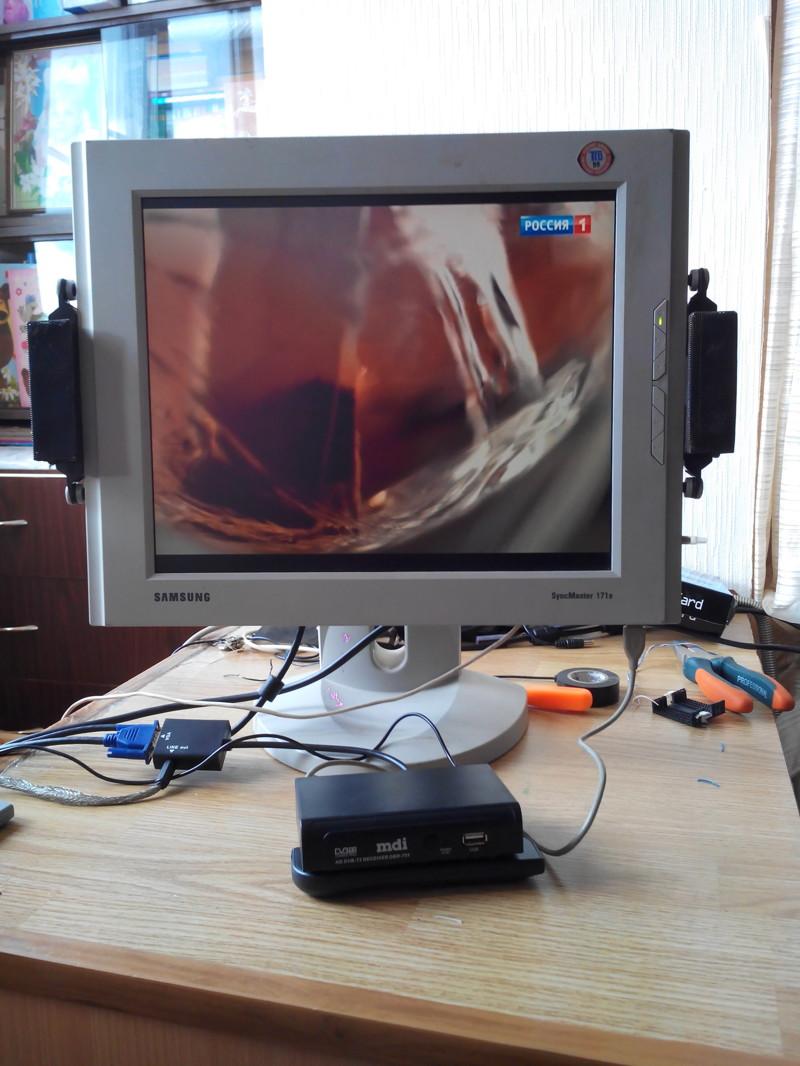 Как сделать основным монитор а не телевизор