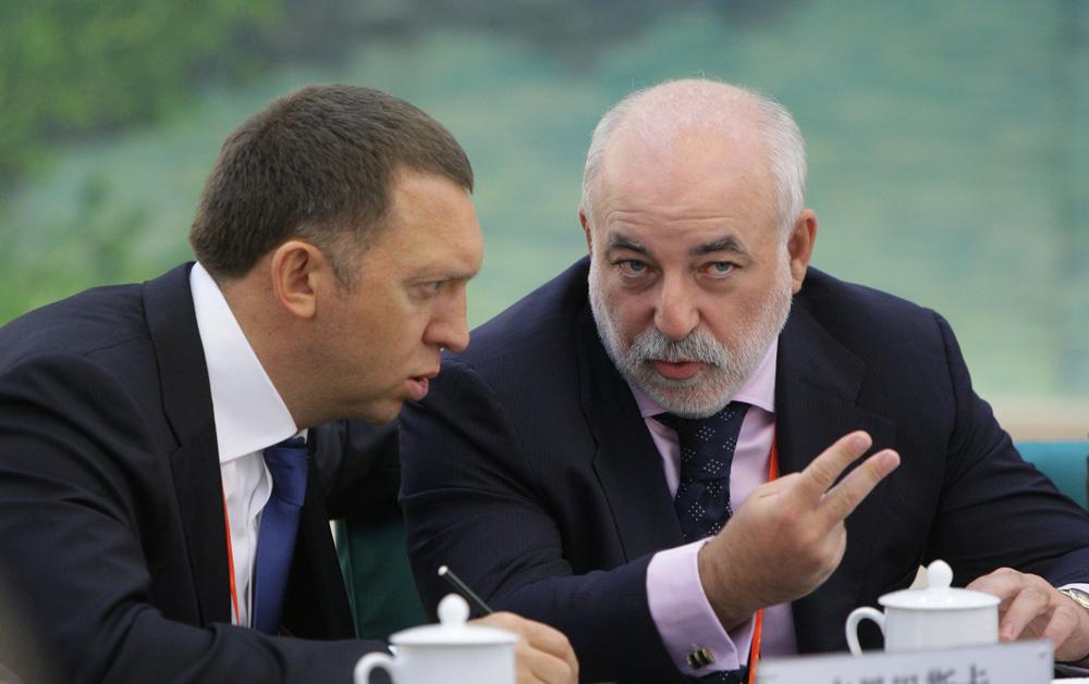 The Times: под санкции Лондона могут попасть Дерипаска, Вексельберг и Абрамович