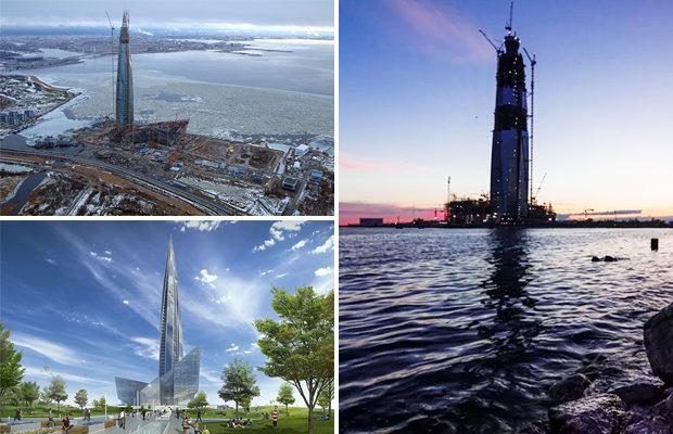Самый высокий небоскреб в Европе