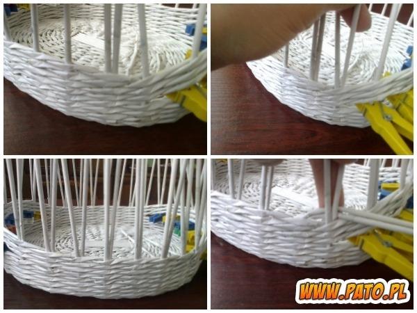 Мастер-класс по плетению корзинки из газетных трубочек (26) (600x450, 181Kb)