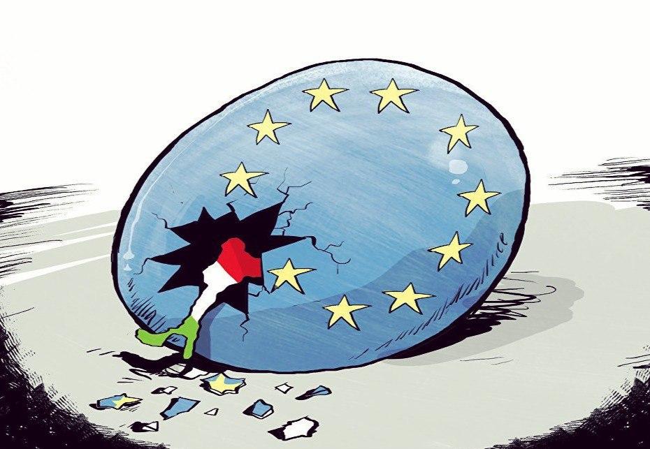 Финита ля Европия: Италия развалит ЕС, отвесив смачный пинок под зад Ангеле Меркель
