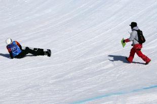 Российская сноубордистка не получила серьезных травм при падении на ОИ