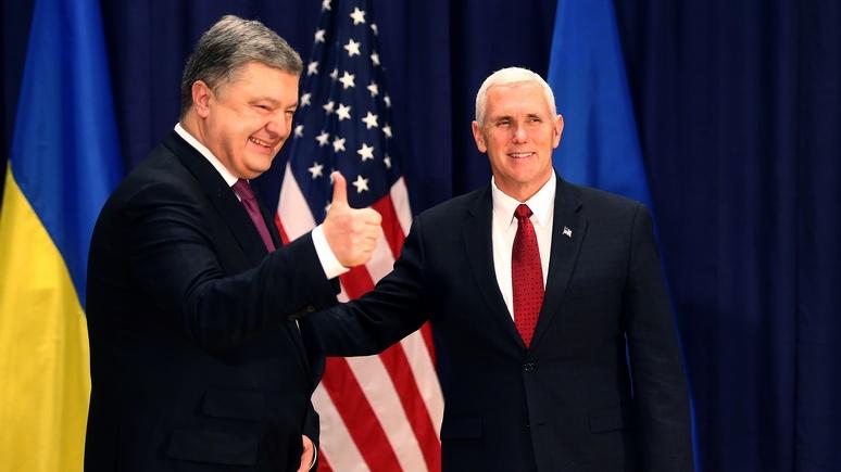 Tages-Anzeiger: борьба Киева за благосклонность Трампа не оставляет перемирию шансов