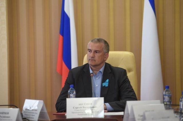Аксенов после задержания Одновол призвал жителей Крыма не ездить на Украину