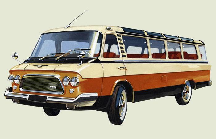Как могли бы выглядеть советские автомобили: 20 самых известных разработок мэтра советского дизайна Эрика