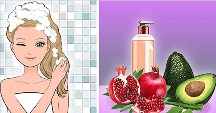 Три удивительных средства для улучшения здоровья ваших волос, создайте свой собственный шампунь!