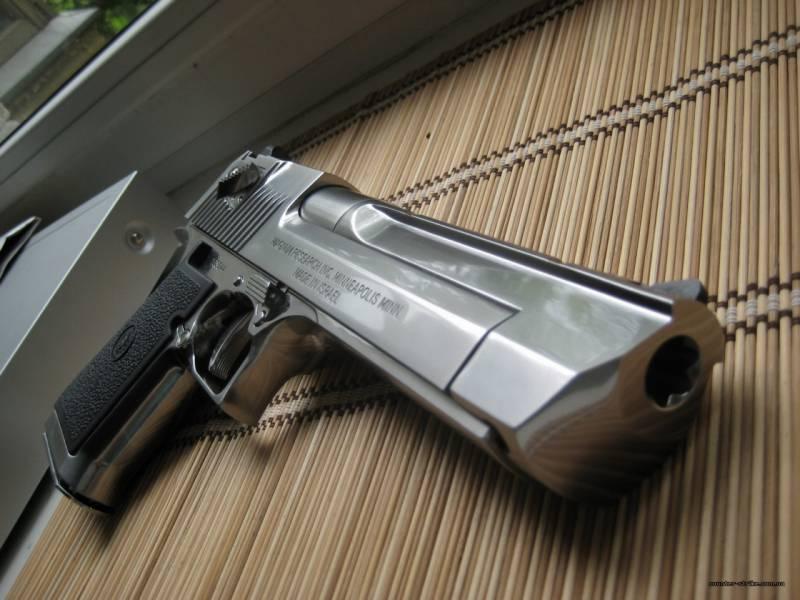 Самое мощное стрелковое оружие. часть 1. Пистолет Desert Eagle