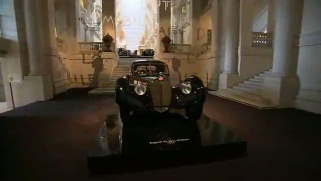 Ralph Lauren. Классическое приложение Коллекции автомобилей в Париже 2.
