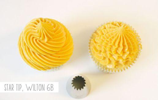 Как украсить кексы кремом? Очень просто!
