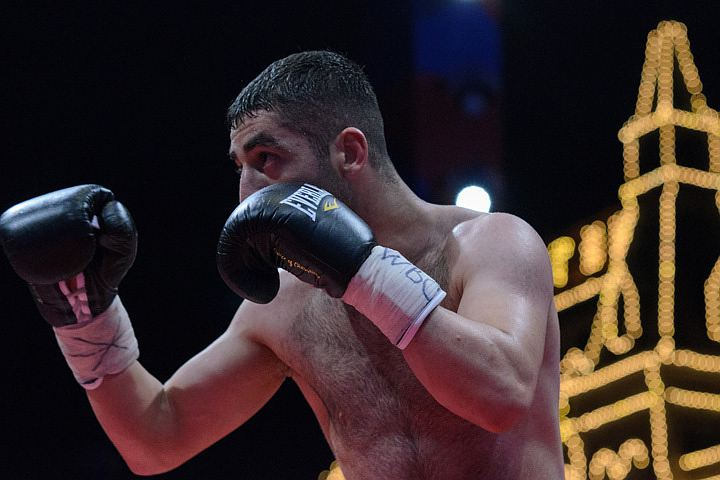 Красная площадь стала самым большим боксерским рингом