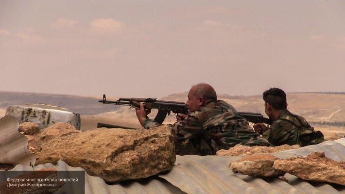 Сирийская армия продолжает наступление на позиции боевиков в Западной Гуте