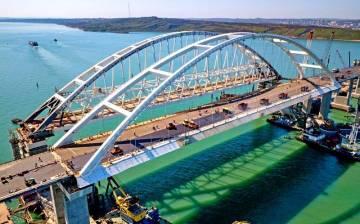 Строительство Крымского мост…