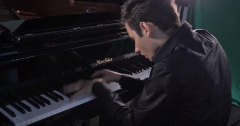 765 нот в минуту. Посмотрите на выступление пианиста, который попал в книгу рекордов Гиннеса!