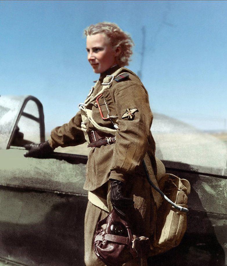 Легендарный летчик-истребитель Лидия Литвяк