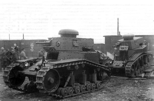 Наш первый серийный танк