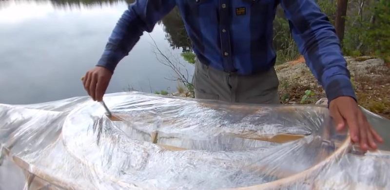 как сделать деревянную лодку