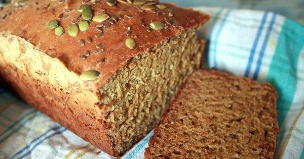 Рецепт полезного бездрожжевого хлеба: для всех любителей правильного питания.