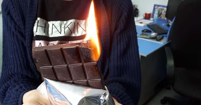 Должен ли гореть шоколад? Таким вопросом задались эксперты Роскачества