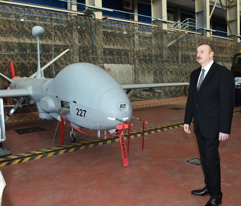 Израильский беспилотный летательный аппарат Hermes 900 в Азербайджане