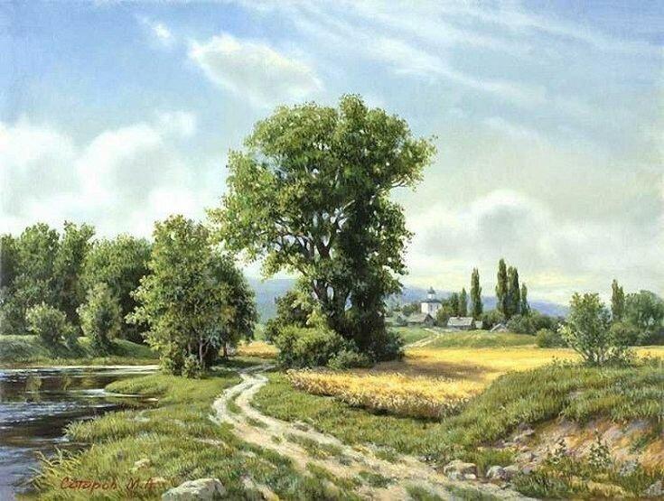 Изысканная красота картин Михаила Сатарова