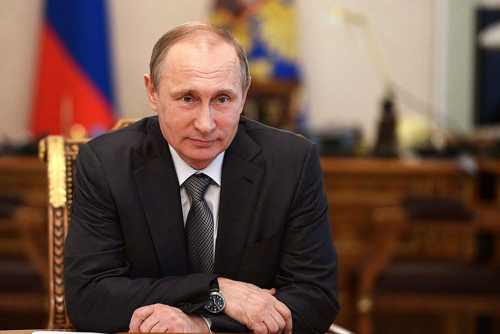 Хорошее чувство юмора у Путина