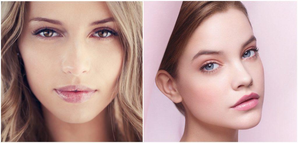 Минимум косметики и красивый макияж