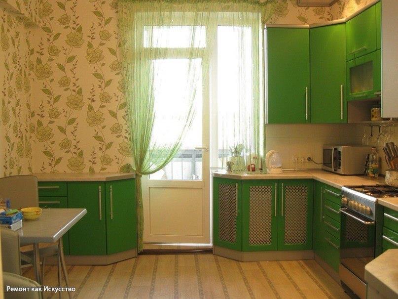 Пол и стены в кухне - актуал…