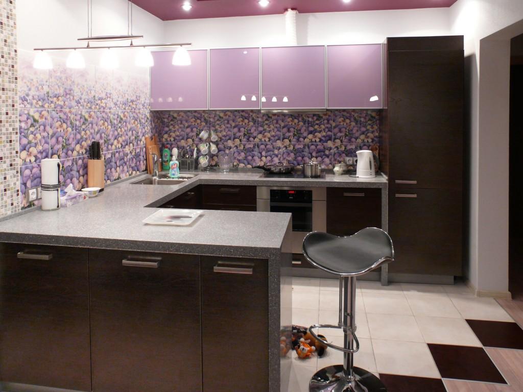Кухня - искусственный камень (Дельфин Владивосток м/ф)