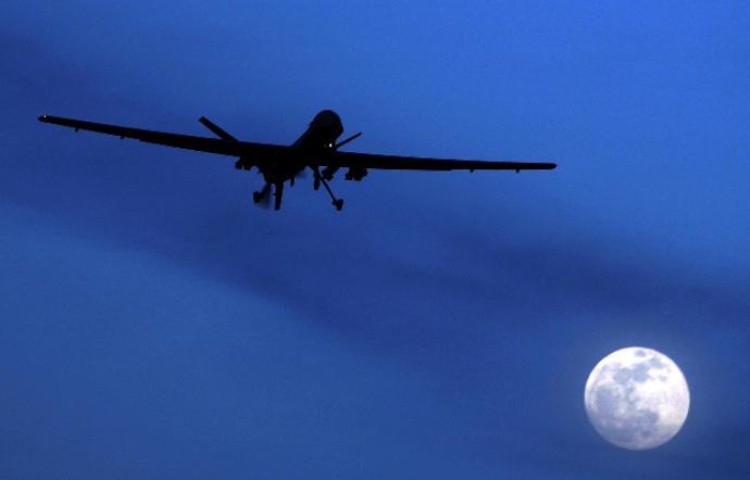 Американский дрон-разведчик вплотную подошел к морским границам России