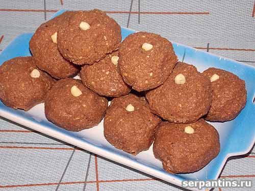 Пирожное картошка из печенья и вафель рецепт