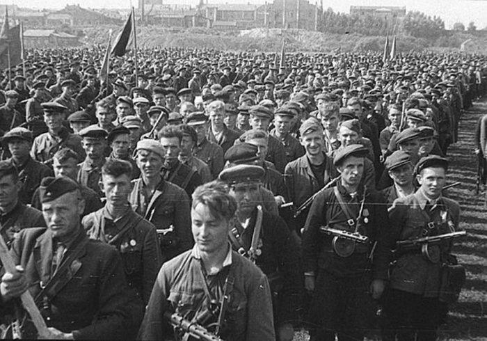 Парад героев–партизан, 16 июля 1944 года, Минск было, история, фото