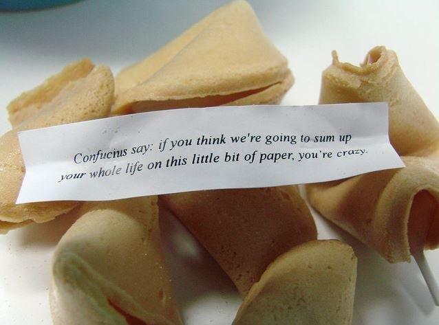 6. Печенье с предсказаниями - не китайская традиция. Печенья с предсказаниями появились в Америке как фишка китайских ресторанов. интересное, китай, мир, неожиданно, познавательно, страна, факты, фото